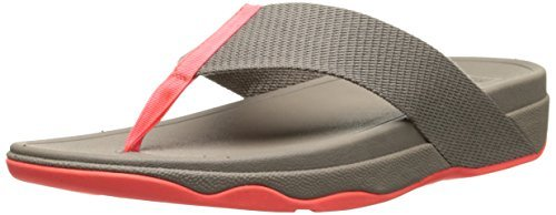FitFlop Women's Surfa Sandals Mink 4 -