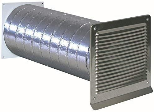 Canalizado ISO Muro Buzón Tubo 150 mm de diámetro exterior rejilla Acero Inoxidable Válvula antirretorno * 568345: Amazon.es: Grandes electrodomésticos