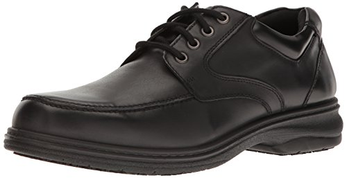 Dr. Scholl's Men's Dignity Work Shoe, Black, 9 M US