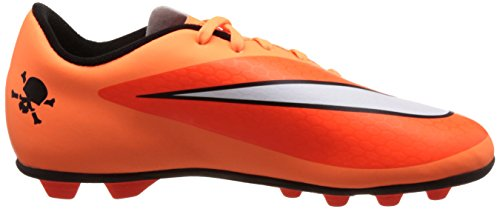 Nike JR Hypervenom Phade FG-R Kinder Fussballschuh hyper crimson-white-atomic orange-black - 36