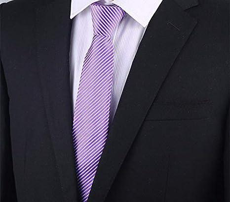 AanYuAanTIE Corbata con Cremallera para Hombres, 7 Cm, Vestido De ...