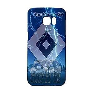 3D Hamburger SV Logo Phone Case for Samsung Galaxy S7 Edge , Samsung Galaxy S7 Edge 3D HSV Logo Cover Case Bundesliga Unique Design