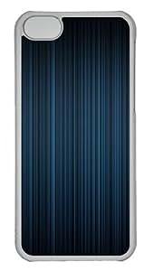 iPhone 5C Case Cover - Aero Blue Custom Design PC Case for Apple iPhone 5C - Transparent