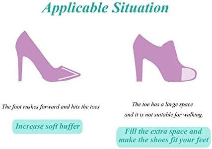 Shoe Pad Women Plug Toe Buffer Inserts Forefoot Insoles High Heels Shoe Cushion
