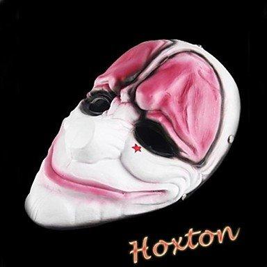 GONGXI Payday 2 Hoxton Resin Mask for Halloween ParGONGXI(1 Pc)