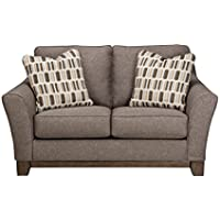 Signature Design by Ashley 4380435 Janley Loveseat, Slate