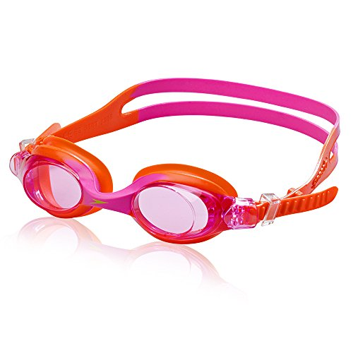 Speedo Kids Skoogles Swim Goggle, Speedo Orange, One ()
