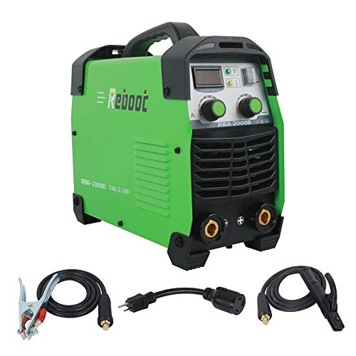 Reboot ARC Welder,Portable Stick Welding Multifunction 170AMP DC 110V/ 220V MMA Inverter Dual Volts Stick Weld Machine 1/16~5/32in for Home DIY Welding (Best Diy Tig Welder)