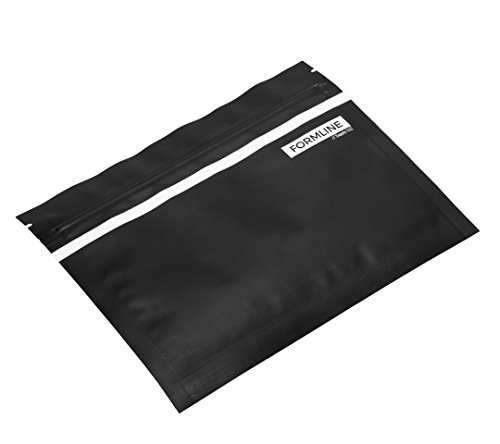Smell Proof Bags Made in USA [20 Pack] by Formline Supply - Large 7x5.5 Inch Baggies are a Great Stash Container Case for Vaporizers and Accessories - Seal in Smelly Odor, Preserve Herb Freshness