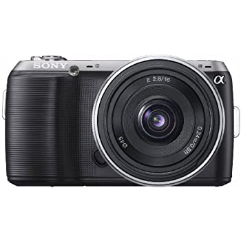Sony Alpha NEX-C3 16 MP Compact Interchangeable Lens Digital Camera Kit with 18-55mm Zoom Lens (Black)