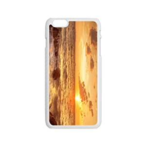The Sunrise And Beach Hight Quality Plastic Case for Iphone 6