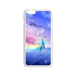 Happy Frozen Snow Queen Princess Elsa Cell Phone Case for Iphone 6