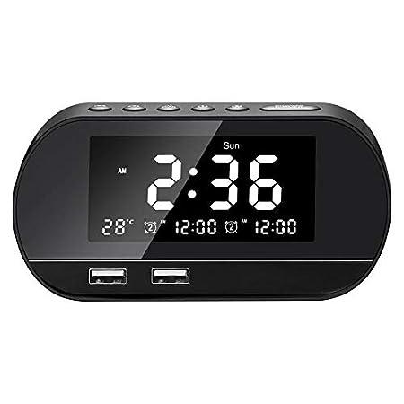 Radio Despertador Digital Proyector, Reloj Multifunción ...