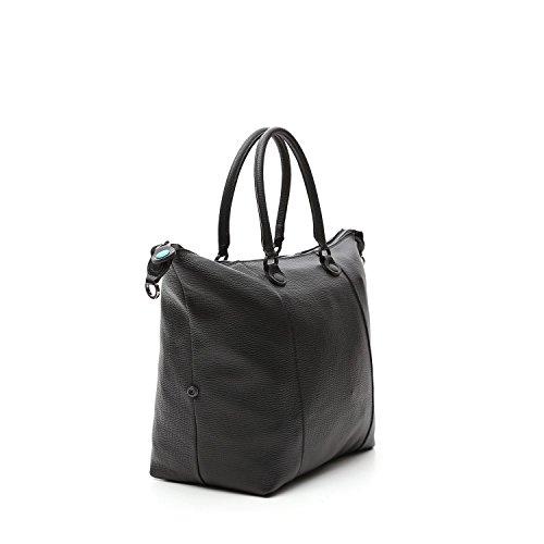 GABS donna borsa shopping G3.B-I17 PAPA PIATTA TRASF.PALMELLATO DAV/DT 1901 2000-NERO