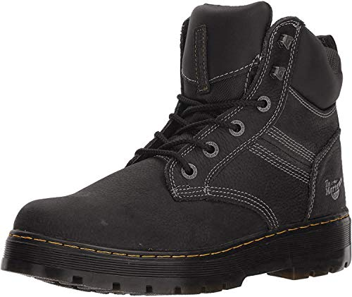 Dr. Martens Men's Gabion Boot, Black, 8 Regular UK (9 US)