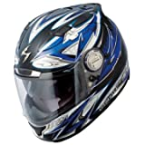 SCORPION EXO 1100 STREET DEMON MOTORCYCLE HELMET blue