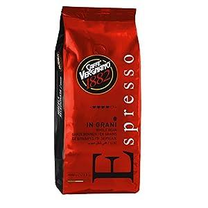 Caffè Vergnano 1882 Caffè in Grani Espresso  - 1 confezione da 1 Kg