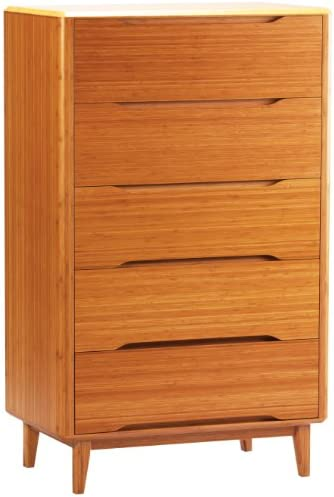 GREENINGTON LLC Currant 5-Drawer Bamboo Chest Review
