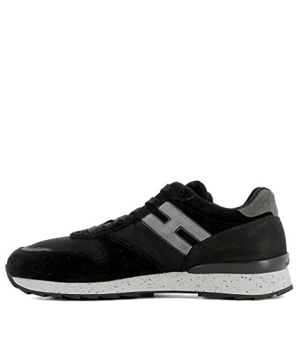 Hogan Sneakers Uomo HXM2610R676HJ59AZG Tessuto Nero