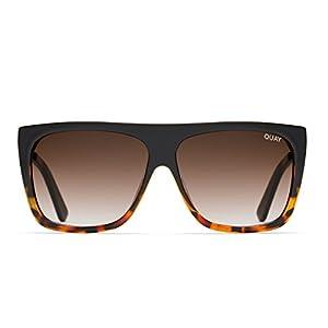 Quay Australia OTL II Women's Sunglasses Oversized Square Sunnies - Tort/Brown