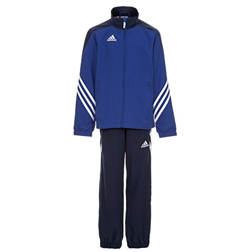 Training Presentation Suit - adidas Boys Tracksuit Woven Sereno14 Boys Presentation Football Training Suit Royal Blue 7-15 Years F49679 (152cm (Large Youth))