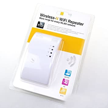 REPETIDOR AMPLIFICADOR WIFI-N ENCHUFE 300 MBPS CON WPS