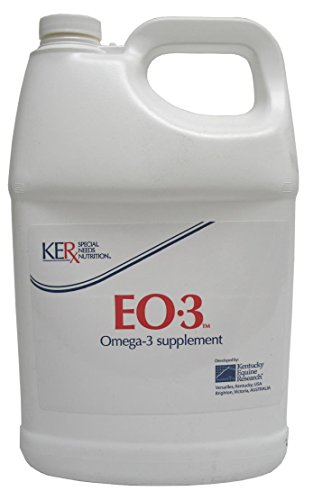 EO 3 OMEGA-3 SUPPLEMENT FOR HORSES - 1 GALLON by DavesPestDefense