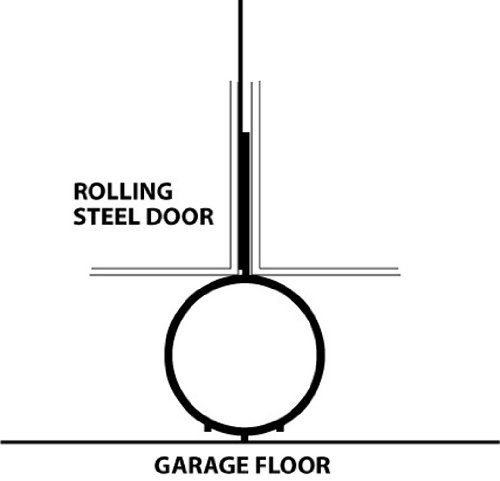 ProSeal 59020 20 Foot Replacement Door Seal for Commercial/Industrial Roll Up Door by Pro Seal (Image #2)