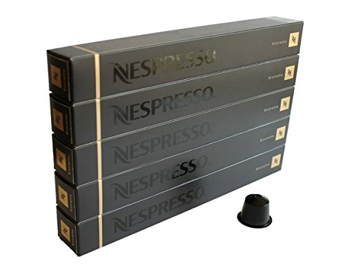 50 Nespresso OriginalLine: Ristretto, 50 Count - NOT compati