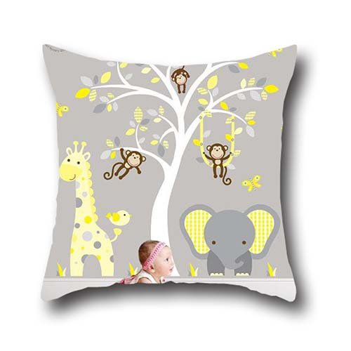 Mr Ozzello Unique Printed Throw Pillow Case Cushion Cover art elephant Gift...