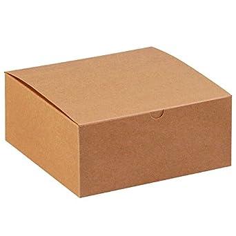 Amazon.com: Cajas de regalo Aviditi GB883K, 8 x 8 pulgadas X ...