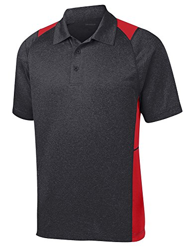 Dri-EQUIP Moisture Wicking 2-Color Athletic Polo