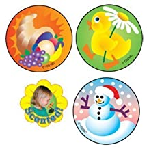 Holiday & Sasonal Scented Stickers - Super Duper Educational & Motivational Toy for Kids - Happy Halloween!