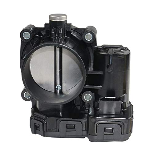 Throttle Body Assembly for Jeep Dodge Ram Chrysler Grand Cherokee Liberty 3.7L 4861661AB ()
