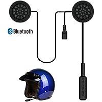 Baile Motorcycle Helmet Headset, Bluetooth Headset,Wireless Helmet Heaphones Communication Systems for Motorbike(Black)