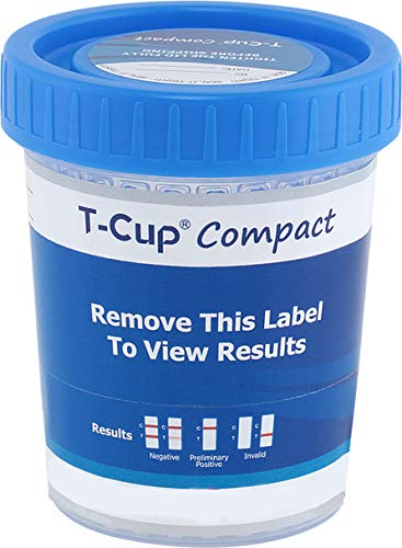 12 Panel T-Cup Multi Drug Urine Test Kit (Multiple Quantities)(25)(COC/THC/OPI/OXY/AMP/BZO/BAR/mAMP/PPX/MTD/PCP/BUP)