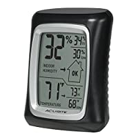 AcuRite 00325 Home Comfort Monitor, Black