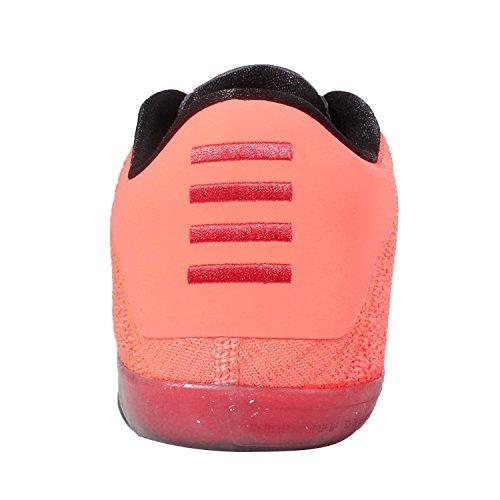 Nike Kobe XI Elite Low, Scarpe da Basket Uomo Grigio Scuro / Verde / Giallo / Viola / Mango Chiaro (Drk Gry / Vlt-brght Mng-crt Prpl)
