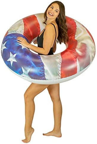 Poolcandy 星条旗 プールチューブ 48インチ - アメリカ国旗 スイムリング