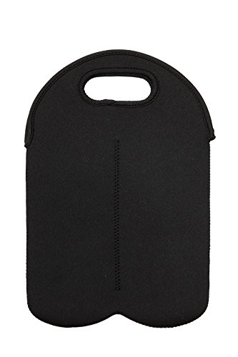 Price comparison product image Wine Bottle Carrier - Neoprene Water Bottle Insulated Tote Bag For 2 750ml Bottles