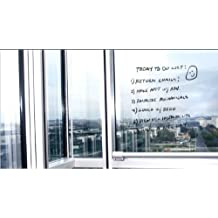 Writey Board 4-Feet by 6-Feet Transparent Dry Erase Adhesive Sticker with 1 Marker (20010-06)