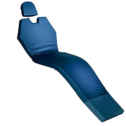 Blue Chip Medical Memory Foam Dental Chair Overlay with Head Rest Comfort Supreme 6600 by Blue Chip Medical Products, Inc. (Image #4)
