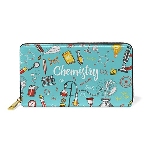 Women's Chemical Instrument Laboratory Leather Wallet for sale  Delivered anywhere in Canada