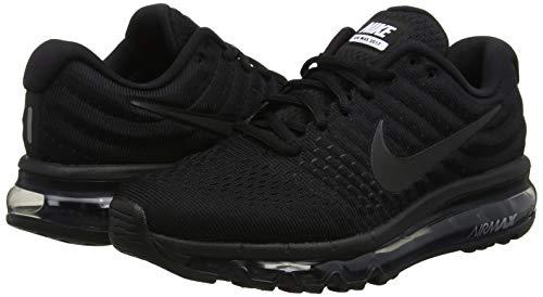 Chaussures Nike Gymnastique Pour 004 De Air noir Femme Noir 2017 Max tq4xFw4H