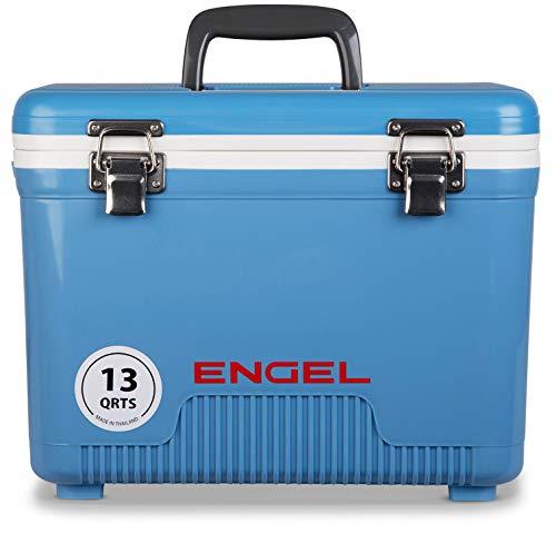 ENGEL Cooler/Dry Box 13 Qt - Blue (Unique Chest Ice)