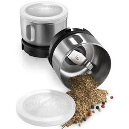 BCGSGA Spice Grinder Accessory Kit(Fits bcg111 models)Stainless Steel (Imported Accessories)