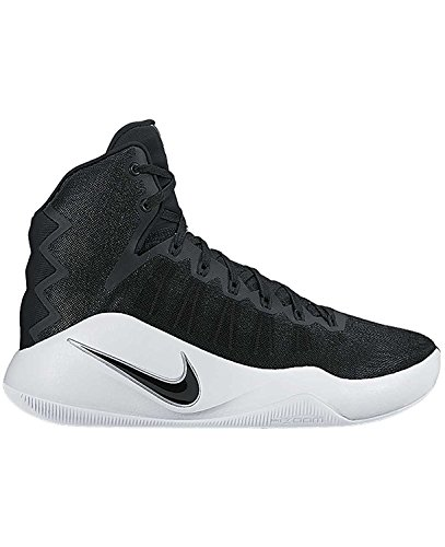 Nike Womens WMNS HYPERDUNK 2016 TB, Black / Black - White, 10 M US by NIKE