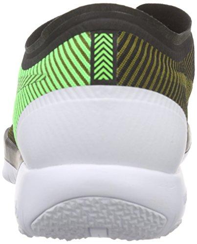 Nike Free Trainer 3.0 V4, Scarpe da Corsa Uomo Multicolore (Black/Vltg Green-mlt Grn-white)