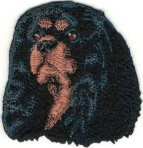 (Choice your patch - Cavalier King Charles Spaniel Head Portrait Dog Breed Embroidery Patch by Aveshop)