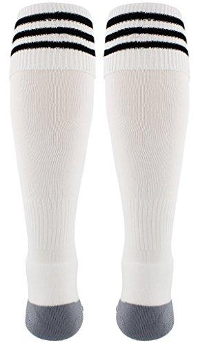 0212f8101 ... adidas Copa Zone Cushion III Soccer Socks (1-Pack), White/Black ...